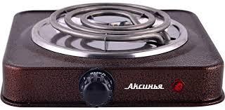 <b>Настольная плита Аксинья КС-005</b>, Brown электрическая ...