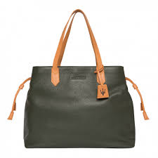 Large <b>Dark Green</b> Leather Shopper - Simply <b>Elegant</b> - Gift Guide