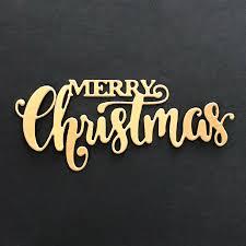 MERRY Christmas Dies Cut Word <b>Metal Cutting Dies New</b> 2019 ...