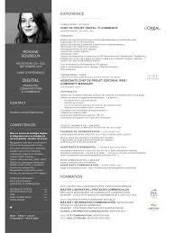 modele cv luxe agrave imprimer bewerbung marketing modele cv luxe agrave imprimer