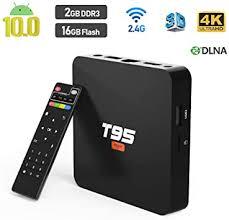 TV Box <b>T95 Super</b>, Android 10 TV Box 2GB DDR3 16GB EMMC ...