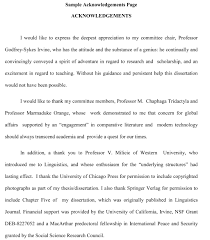 Resume Examples Acknowledgments Thesis And Dissertation Research     Resume Examples How To Write Acknowledgement For Research Thesis Thesis Acknowledgments   Thesis and Dissertation