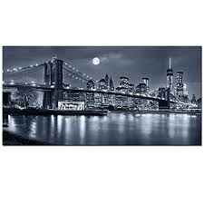 New York <b>City Canvas Wall</b> Art: Amazon.com
