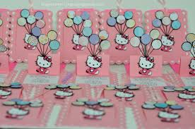 hello kitty jingvitations hello kitty pop up balloon invitations 1