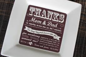 Wedding Thank You Gift Ideas For Parents - Wedding Design Ideas