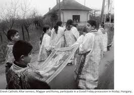 Image result for byzantine catholic procession good friday night