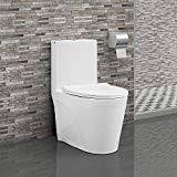 one piece toilets snakeskin pattern ceramic closestool home