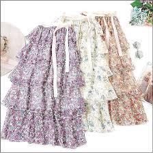 Skirts - New Flower Long Skirt Full <b>Summer</b> Beach Sunny Skirts ...