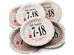<b>Одноразовые тарелки эврику n</b> 22 ооо тарелку 190mm 6шт ...