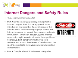 acr  major assignments  our mission  k    aventa learning    internet dangers and safety rules this assignment has two parts    a  write a