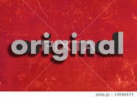「original word」の画像検索結果