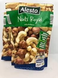 Горіхи Alesto Mix <b>Nuts Royal</b> (Зелена уп) 200 г, цена 105 грн ...