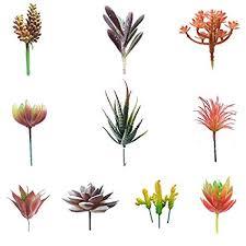 Allegro Huyer Faux Cactus Plants 10Pcs/Set Artificial ... - Amazon.com