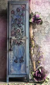 <b>Vintage Hand Painted</b> Floral Cabinet | Hand Painted Vintage ...