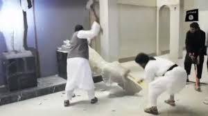 """Résultat de recherche d'images pour """"IS smashing sculptures"""""""