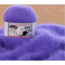 100g/2 Ball Mink Knitting Yarn Luxury Fur Hairy Cashmere Yarn For ...