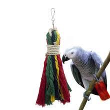 1 шт., <b>хлопковая веревка для</b> попугая, Тянущая игрушка ...