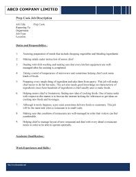prep cook resume sample chef resume sample grill cook resume prep cook resume sample