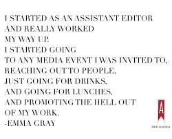 a peek inside her agenda emma gray her agenda take initiative and never give