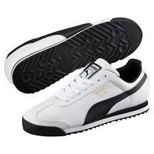 Мужские <b>кроссовки Roma Basic</b> | Белый | <b>Puma</b>