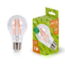 <b>Светодиодная лампа REV</b> E27 <b>7 Вт</b> 502 лм 2700 К груша купить ...