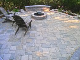 decoration pavers patio beauteous paver: modern design slate stone patio beauteous this beautiful slatestone uses three paver shapes that work
