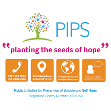 pips charity public initiative for prevention of suicide and pips charity