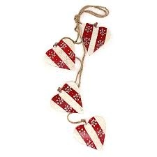 <b>Гирлянда подвесная Christmas</b> Hearts, 4 шт., <b>EnjoyMe</b>
