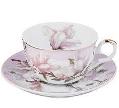 <b>Чайная пара Lefard</b>, <b>Весна</b>, 250 мл, цветочный узор Фарфор ...