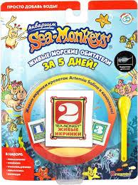 Купить <b>набор</b> с расходными материалами <b>Sea</b>-<b>Monkeys</b>, корм ...