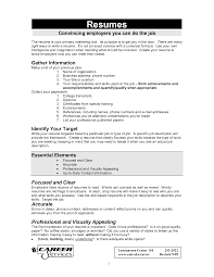 how to do a job resume examples resume format  formal