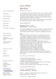 Nursery Nurse CV template - Dayjob bus driver CV template - Dayjob