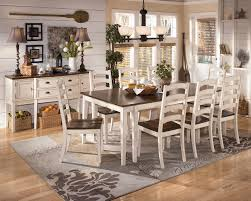 ashley furniture kitchen tables: leaf table w  side chairs on small kitchen tables ashley furniture