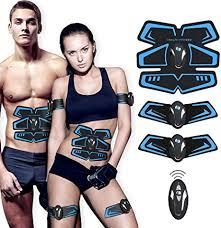 【New Version 2018】<b>ABS Trainer</b> EMS <b>Muscle Stimulator</b> with ...