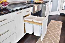 Kitchen Cabinet Garbage Drawer Pull Out Trash Can Cabinet Kitchen Recycling Waste Bin