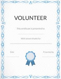 appreciation here is our appreciation certificate for you volunteer appreciation certificates signup com more
