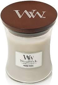 WoodWick <b>Warm Wool</b> Candle - <b>Ароматическая свеча</b> в стакане ...