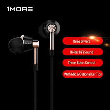 Shop <b>Xiaomi 1MORE Triple</b> Driver In-Ear Headphones <b>E1001</b> HiFi ...