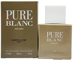Karen Low Pure Blanc Eau De Toilette Spray for Men ... - Amazon.com