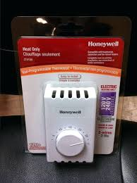 hanging honeywell 2 wire thermostat getrithm me Honeywell 2 Wire Programmable Thermostat gorgeous honeywell ct410a manual thermostat single pole 2 wires electric heating white furnace plus rodgers 2 wire programmable thermostat