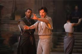 benedict cumberbatch doctor strange interview benedict cumberbatch as doctor strange being trained by chiwetel ejiofor as baron karl mordo in doctor