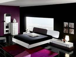 black and white black bed with white furniture
