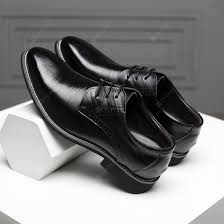 Men Leather Shoes <b>Classic</b> Business Leather Shoes Large Size ...