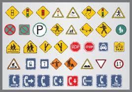 Resultado de imagem para transito placas clipart