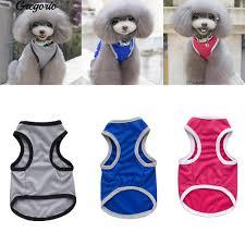 Gre <b>Fashion Dog</b> Pet <b>Puppy</b> Mesh Sleeveless Clothes Vest Apparel ...