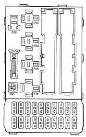ford contour 1996 2000 fuse box diagram auto genius ford contour fuse box instrument panel fuses