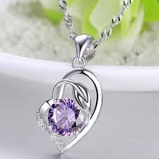 <b>Everoyal</b> Trendy 925 Sterling Silver Necklace For Women Jewelry ...