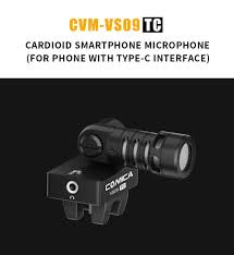 <b>COMICA CVM-VS09 TC Cardioid</b> Smartphone Microphone for ...