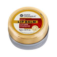 Khadi Organique <b>Lychee</b> Lip Balm, Packaging Size: <b>5</b> Gm, Rs 99 ...