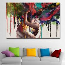 <b>SELFLESSLY ART Posters Prints</b> Wall Art Canvas Painting Abstract ...